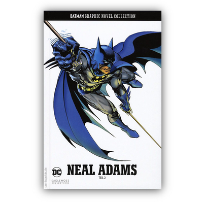 Batman Graphic Novel Collection 33: Neal Adams Teil 2 (HC) – DE