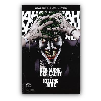 Batman Graphic Novel Collection 34: Der Mann, der lacht und Killing Joke (HC) – DE