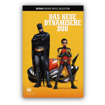 Batman Graphic Novel Collection 8: Das neue dynamische Duo (HC) – DE