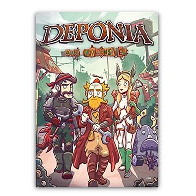 Deponia – Das Rollenspiel (HC) – DE