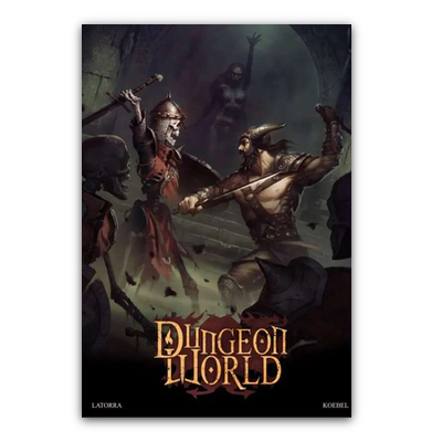 Dungeon World – Grundregelwerk (HC) – DE