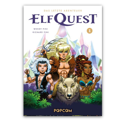ElfQuest – Das letzte Abenteuer 01 (HC) – DE