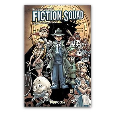 Fiction Squad 01: Es zerbrach am helllichten Tag (HC) – DE