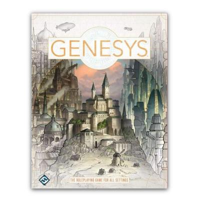Genesis: Core Rulebook (HC) – EN