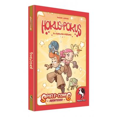Spiele-Comic Abenteuer: Hokus Pokus (HC) – DE