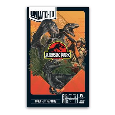 Unmatched: Jurassic Park InGen vs. Raptor – EN