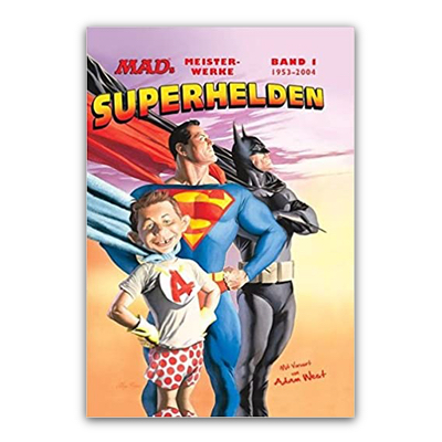 MADs Meisterwerke: Superhelden (HC) – DE
