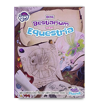 My little Pony ToE: Das Bestiarium von Equestria (HC) – DE