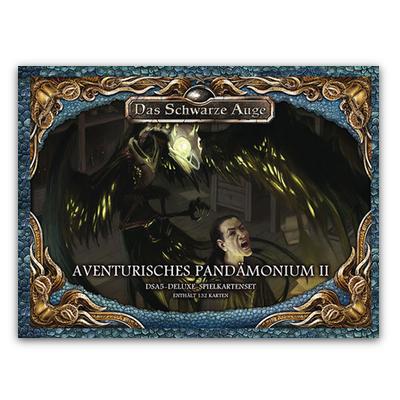DSA5 Spielkartenset Deluxe: Aventurisches Pandämonium 2 – DE