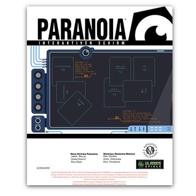 Paranoia: Spielleiterschirm (HC) – DE