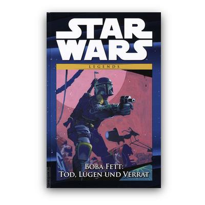 Star Wars Comic-Kollektion 38: Legends – Boba Fett: Tod, Lügen und Verrat (HC) – DE