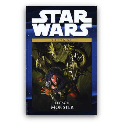 Star Wars Comic-Kollektion 62: Legends – Legacy: Monster (HC) – DE
