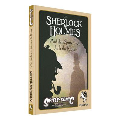 Spiele-Comic Krimi: Sherlock Holmes #3 – Auf den Spuren von Jack the Ripper  (HC) – DE