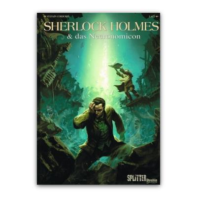 Sherlock Holmes & das Necronomicon (HC) – DE