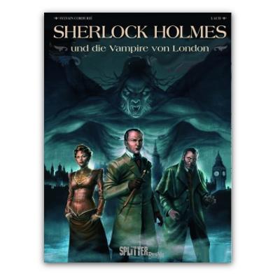 Sherlock Holmes – Vampire von London (HC Neuauflage) – DE