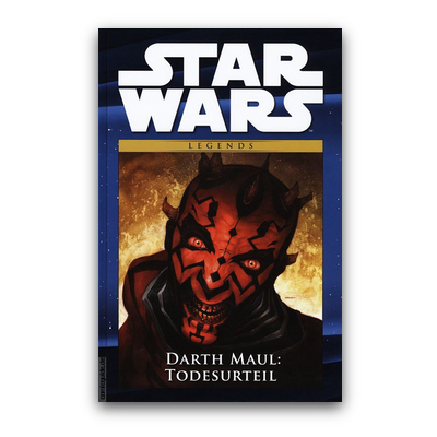 Star Wars Comic-Kollektion 11: Legends: Darth Maul – Todesurteil (HC) – DE
