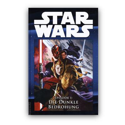 Star Wars Comic-Kollektion 20: Episode I: Die dunkle Bedrohung (HC) – DE