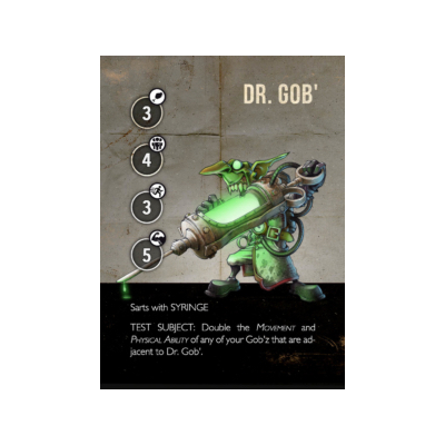 Gob zHeroes: Dr. Gob – EN