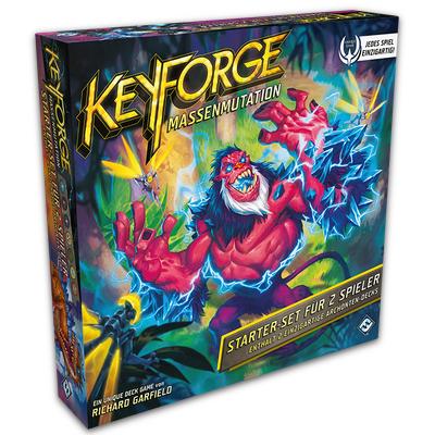 """KeyForge: Massenmutation """"Starter-Set für 2 Spieler"""" – DE"""