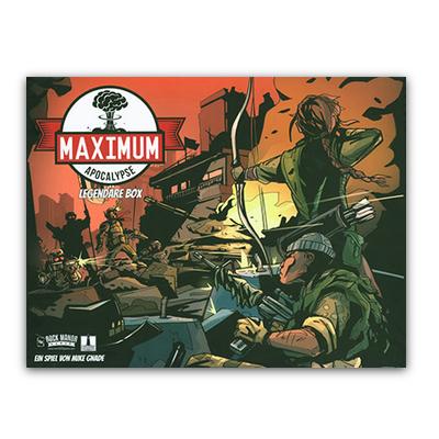 Maximum Apocalypse: Legendäre Sammelbox (inkl. Erweiterung Insektokalypse) – DE