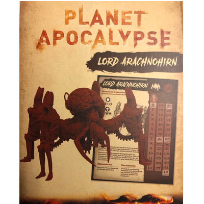 Planet Apocalypse: Lord Arachnohirn – DE