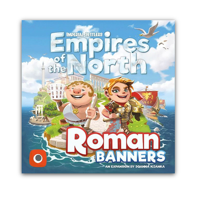 Imperial Settlers: Empires of the North – North Roman Banners – EN