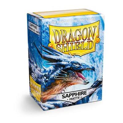 "Dragon Shield: Sleeves – Standard ""Sapphire Matte"" – 100 Stk"