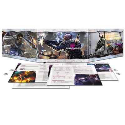 Shadowrun 6: Sichtschirmpack – DE