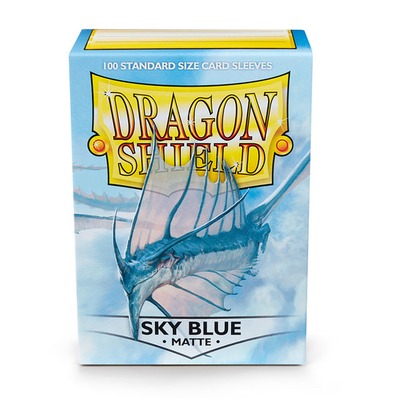 "Dragon Shield: Sleeves – Standard ""Sky Blue Matte"" – 100 Stk"