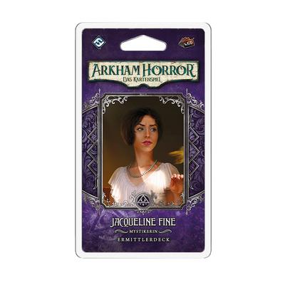 "Arkham Horror LCG: Jacqueline Fine ""Ermittlerdeck"" – DE"