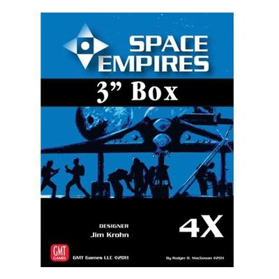 """Space Empires 4X – 3 Inch Box """"Empty"""" – EN"""