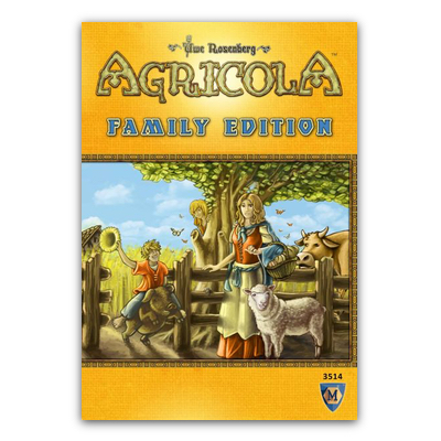 Agricola: Family Edition – EN