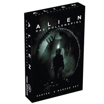 Alien Das Rollenspiel: Karten- und Markerset – DE