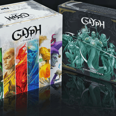 Glyph Chess: The 3rd Player Expansion Pack – EN