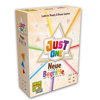 Just One: Neue Begriffe – DE