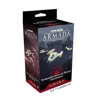 Star Wars Armada: Sternenjägerstaffeln der Republik – DE