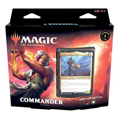 Magic: Commander Legenden Deck: Hitze des Gefechts – DE