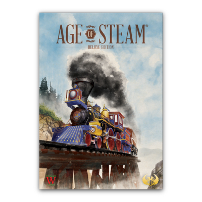"Age of Steam ""Deluxe Edition"" – DE/EN"
