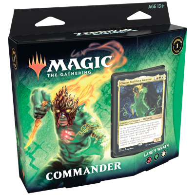 Magic: Commander Zendikar Rising Deck: Land's Wrath – EN