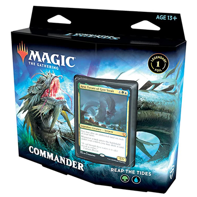 Magic: Commander Legends Deck: Reap The Tides – EN