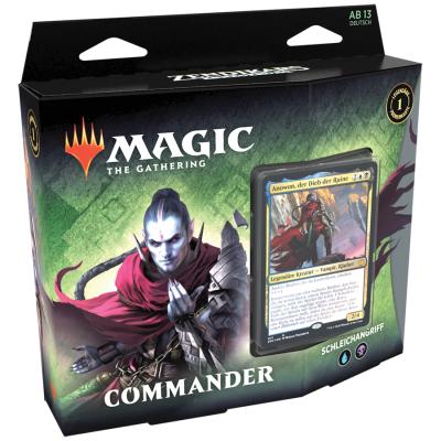 Magic: Commander Zendikars Erneuerung Deck: Schleichangriff – DE