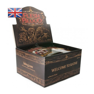 Flesh & Blood: Welcome to Rathe – Unlimited Booster Display (24 Packs) – EN