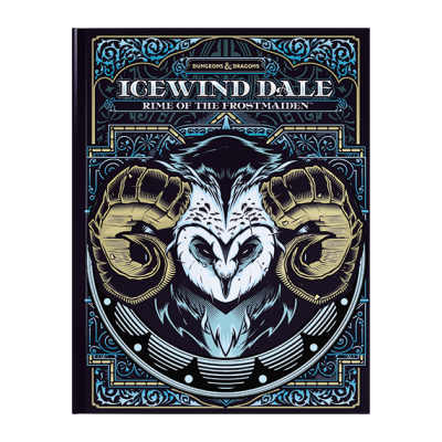 D&D: Icewind Dale: Rime of the Frostmaiden (HC) limited Edition alternate Cover – EN