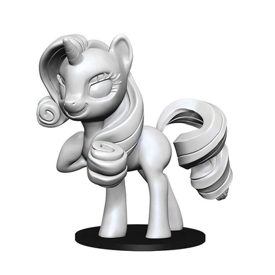 My Little Pony: Deep Cuts Unpainted Miniatures – Rarity