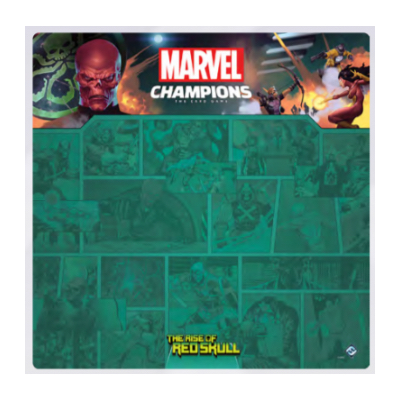 "Marvel Champions: 1-4 Player Game Mat ""The Rise of Red Skull"""
