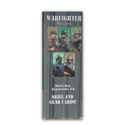 Warfighter: The WWII Tactical Combat Card Game: Multi-Era Expansion #2 – Skills and Gear Cards! – EN