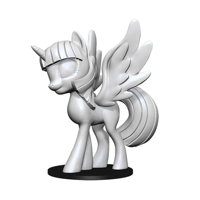 My Little Pony: Deep Cuts Unpainted Miniatures – Twilight Sparkle