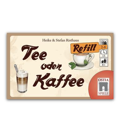 """Tee oder Kaffee """"Refill Edition"""" – DE/EN"""