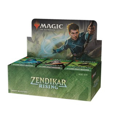 Magic: Zendikars Erneuerung Draft Boosterdisplay – DE