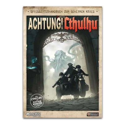 Achtung! Cthulhu: Spielleiterhandbuch – DE